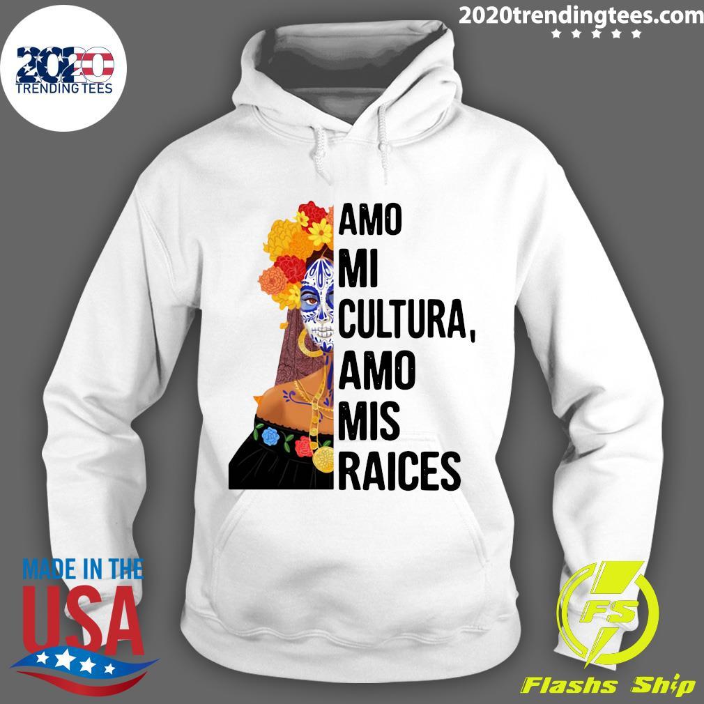Amo Mi Cultura Amo Mis Raices Vintage Shirt Hoodie