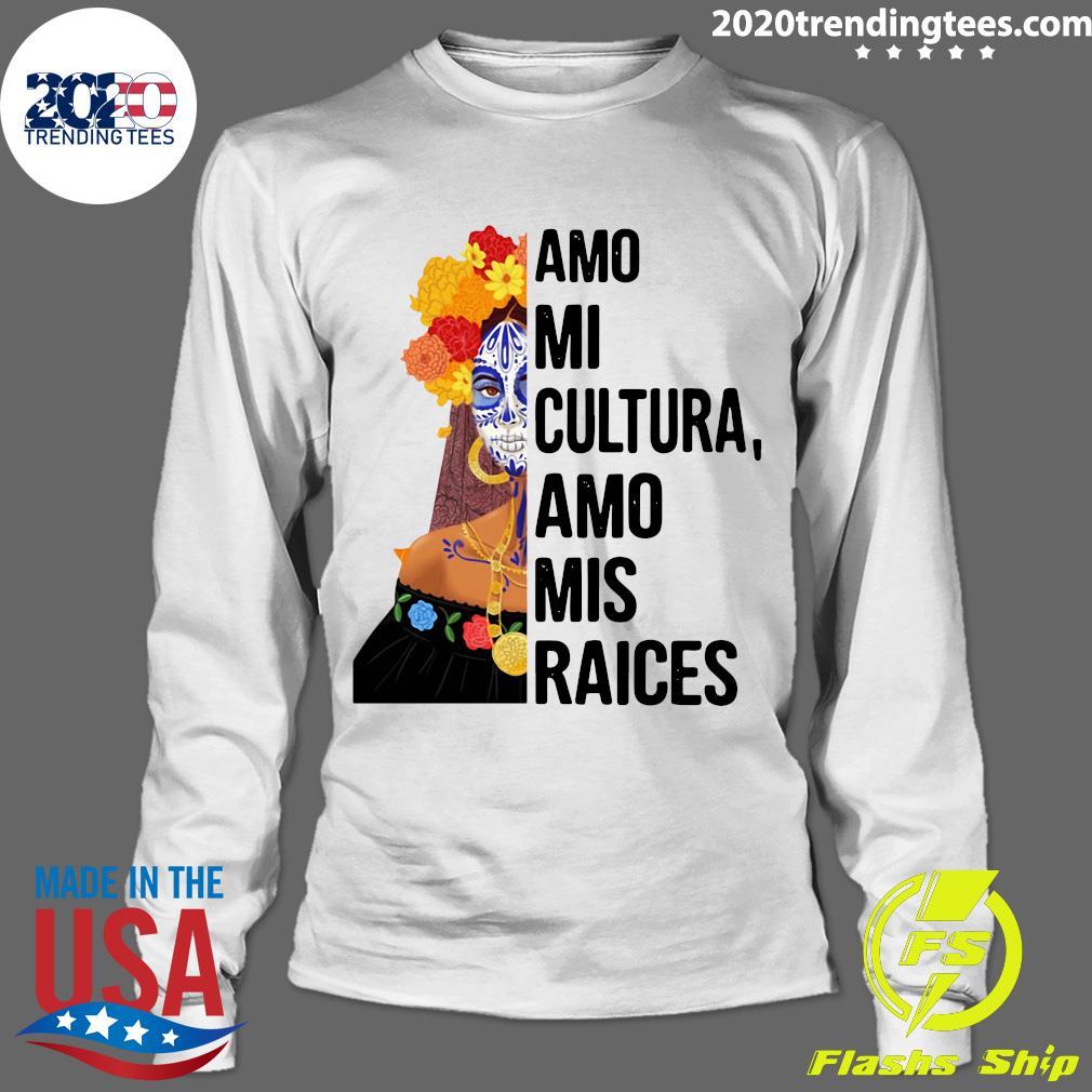 Amo Mi Cultura Amo Mis Raices Vintage Shirt Longsleeve