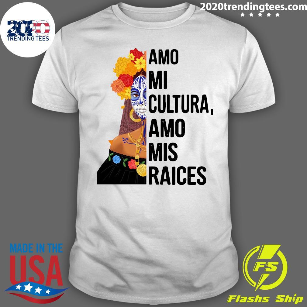 Amo Mi Cultura Amo Mis Raices Vintage Shirt
