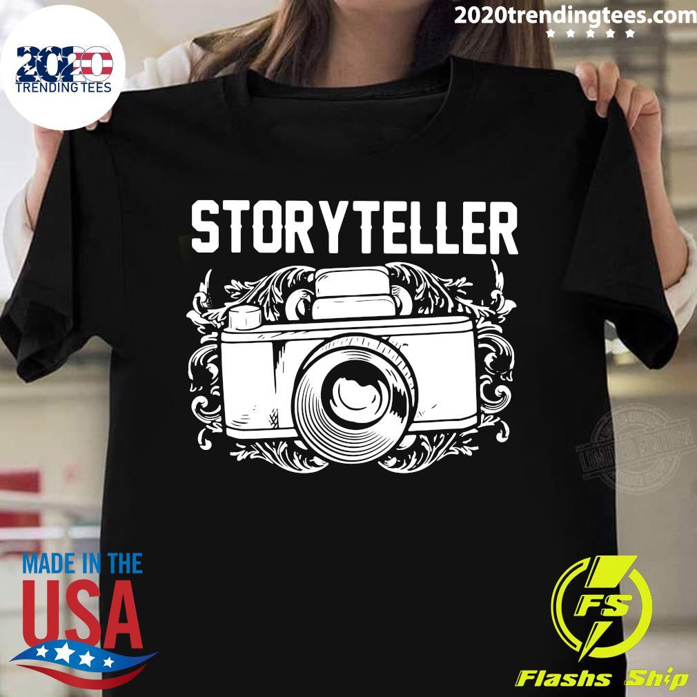 Camera Photographer Storyteller Shirt