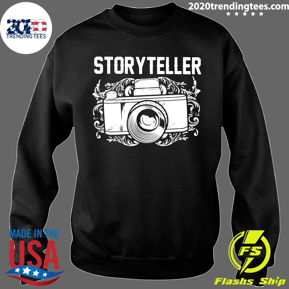 Camera Photographer Storyteller Shirt Sweater