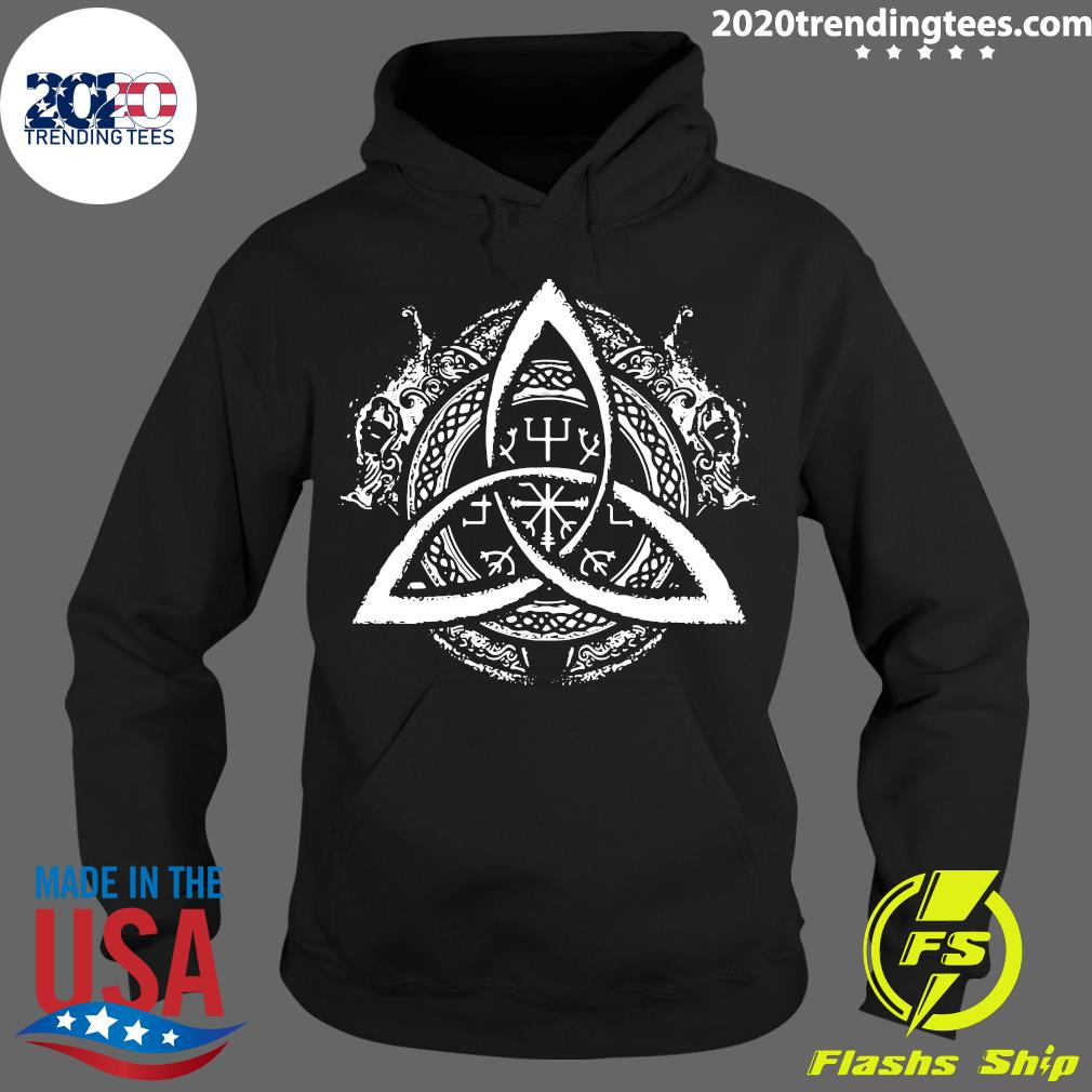 Celtic Knot Design Celtic Triskele Shirt Hoodie