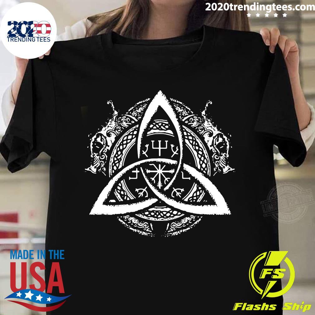 Celtic Knot Design Celtic Triskele Shirt