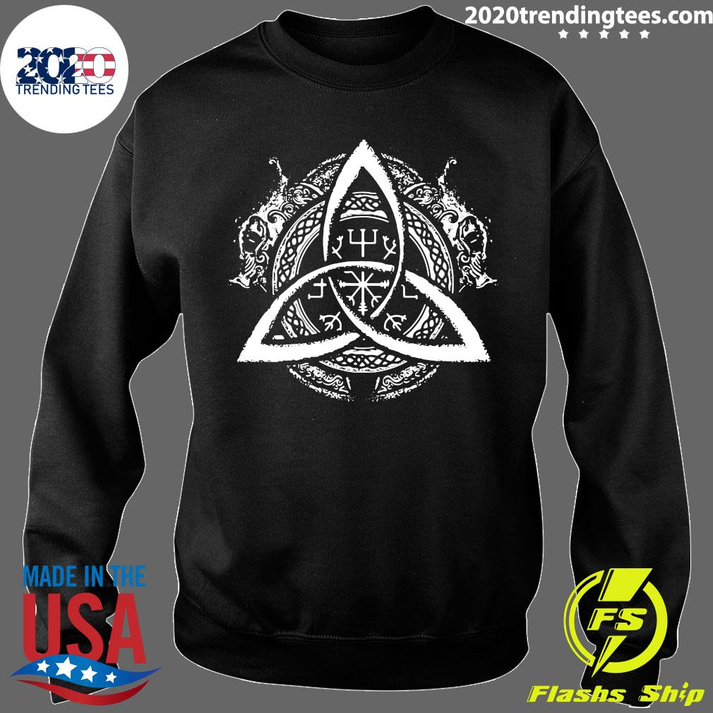 Celtic Knot Design Celtic Triskele Shirt Sweater
