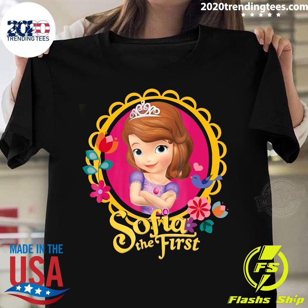 Disney Sofia The First Sofia Dainty Border Shirt