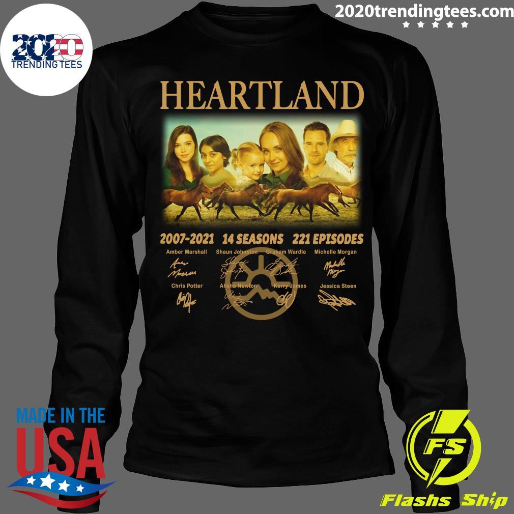 Heartland 2007 - 2021 14 Seasons 221 Episodes Signatures Shirt Longsleeve
