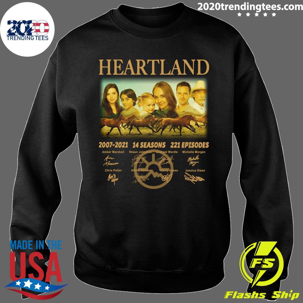 Heartland 2007 - 2021 14 Seasons 221 Episodes Signatures Shirt Sweater