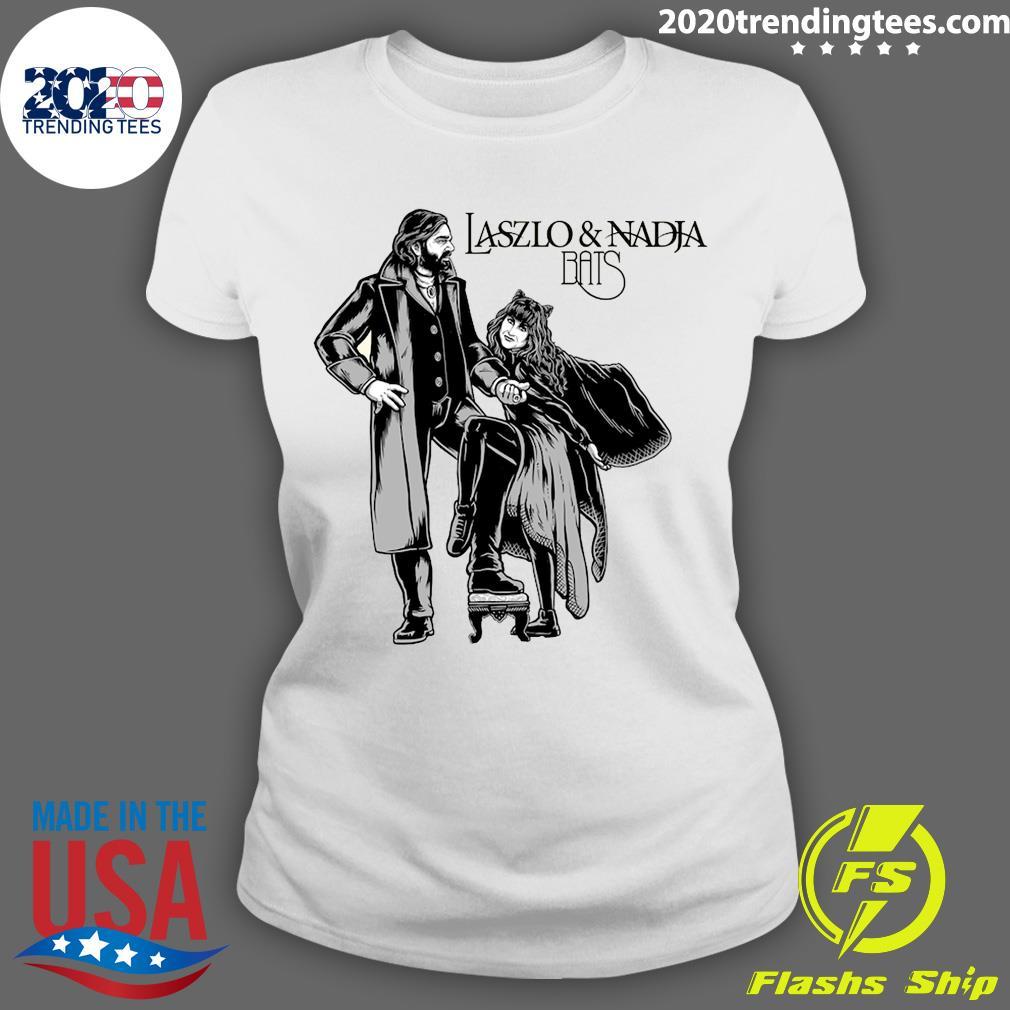 Laszlo And Nadja Bats Shirt Ladies tee