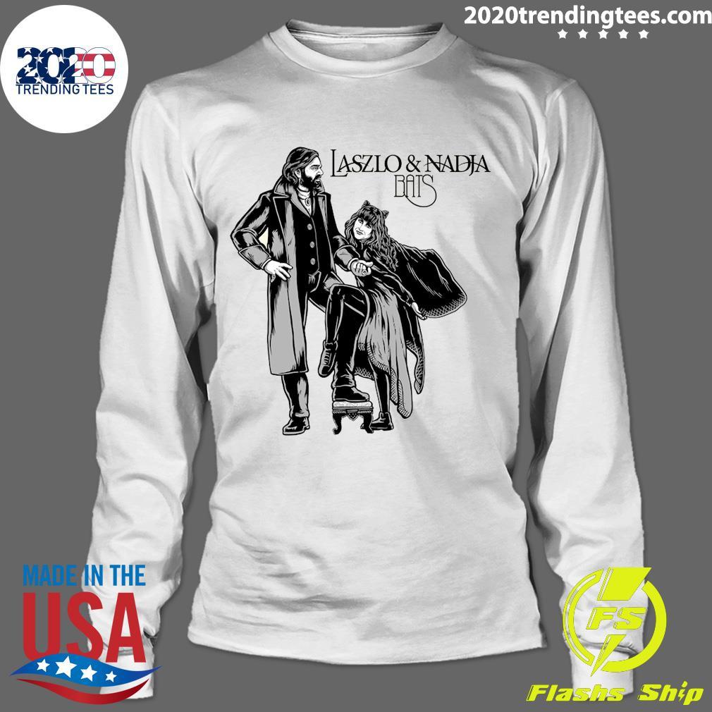 Laszlo And Nadja Bats Shirt Longsleeve