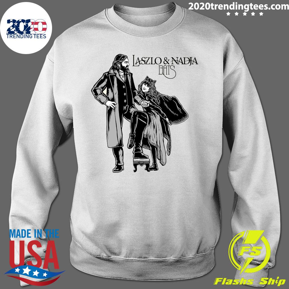 Laszlo And Nadja Bats Shirt Sweater