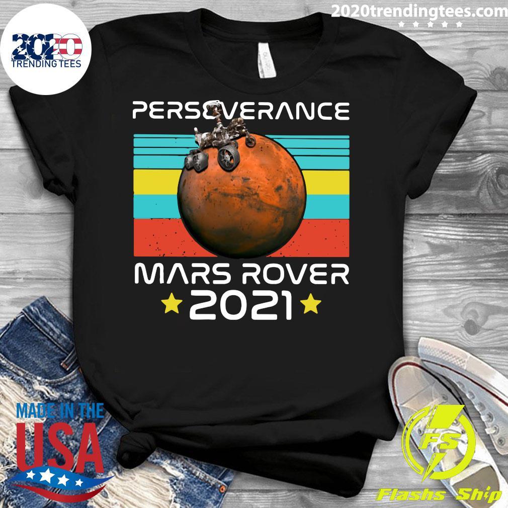 Nasa Perseverance Mars Rover 2021 Shirt Ladies tee