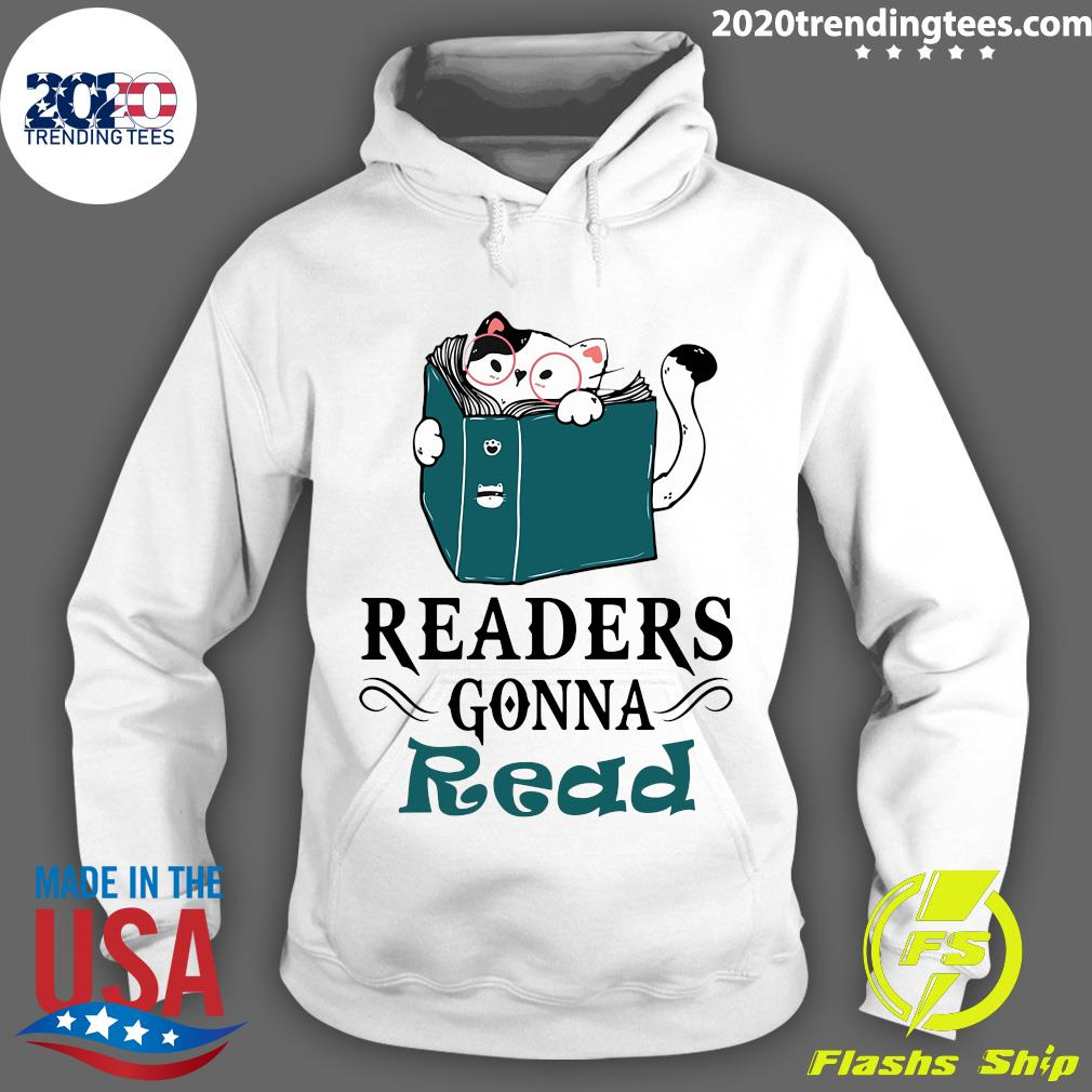 Readers Gonna Read Cat Book Shirt Hoodie