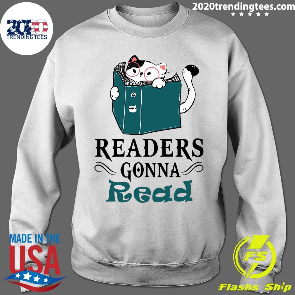 Readers Gonna Read Cat Book Shirt Sweater