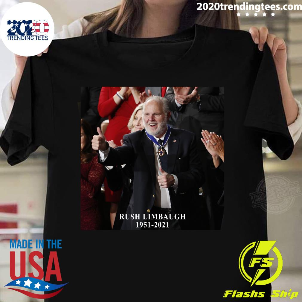 Rush Limbaugh Legend 1951-2021 Shirt