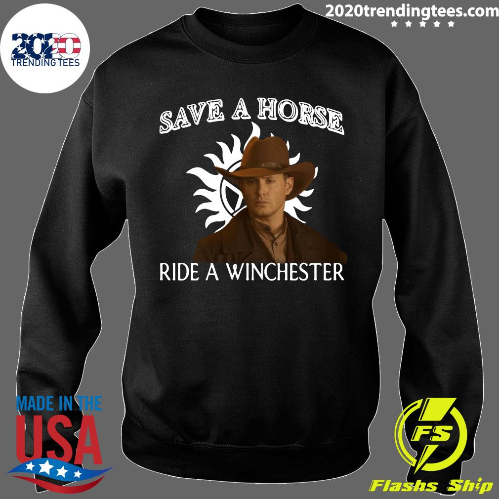 Save A Horse Ride A Winchester Shirt Sweater