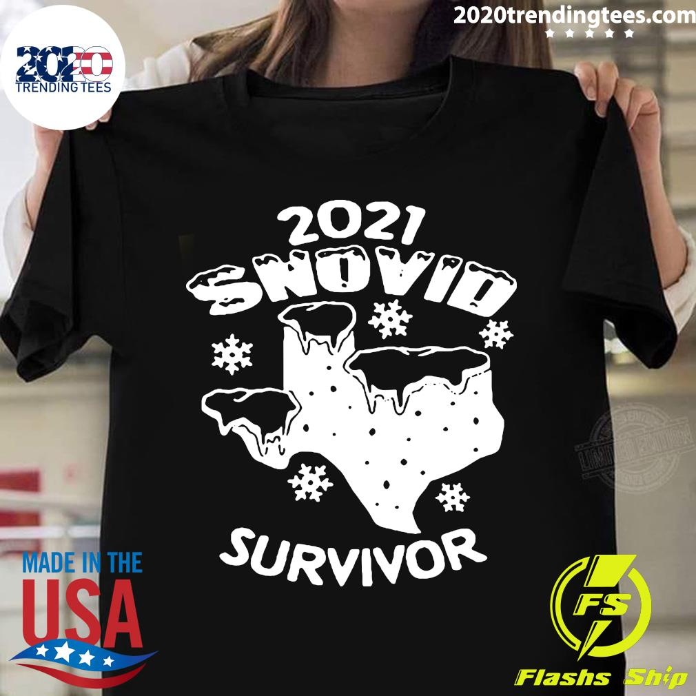 Snovid 2021 Texas Survived Shirt
