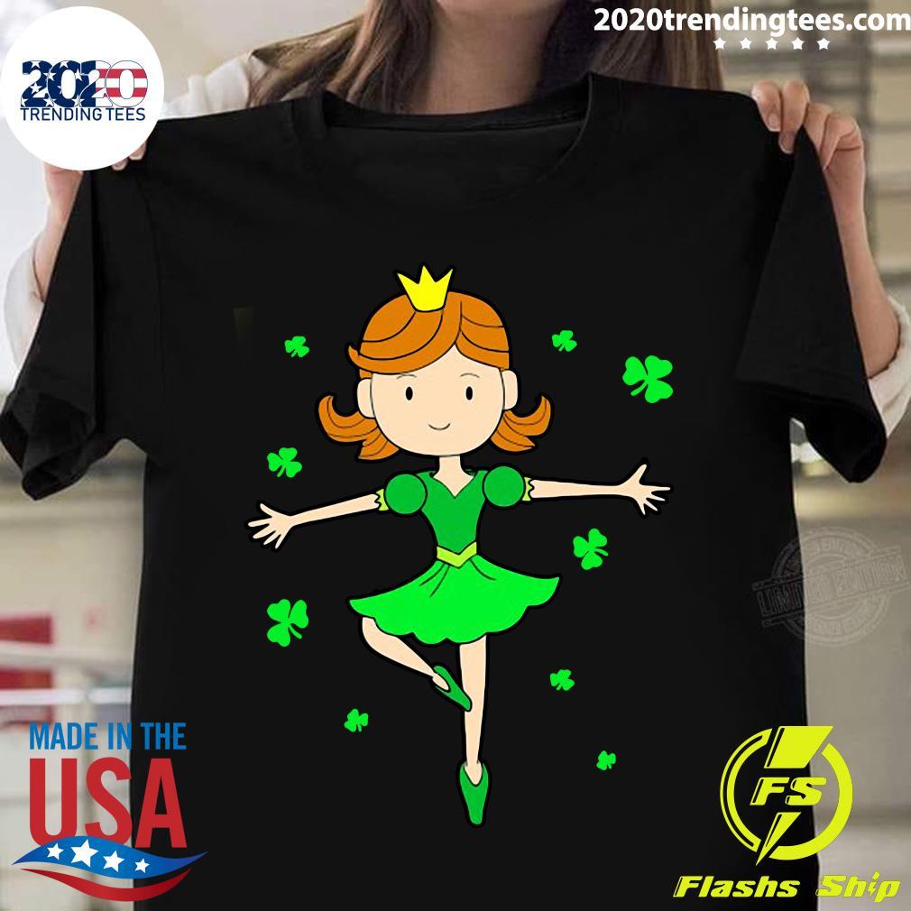 St. Patrick's Ballerina Dancing Princess Shirt