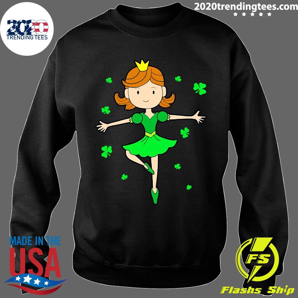 St. Patrick's Ballerina Dancing Princess Shirt Sweater