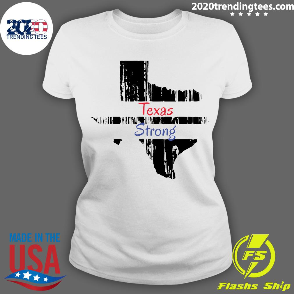 Texas Strong Survived Covvid 2021 Shirt Ladies tee