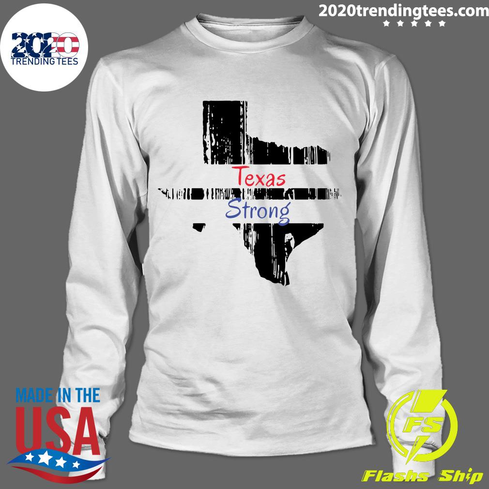 Texas Strong Survived Covvid 2021 Shirt Longsleeve