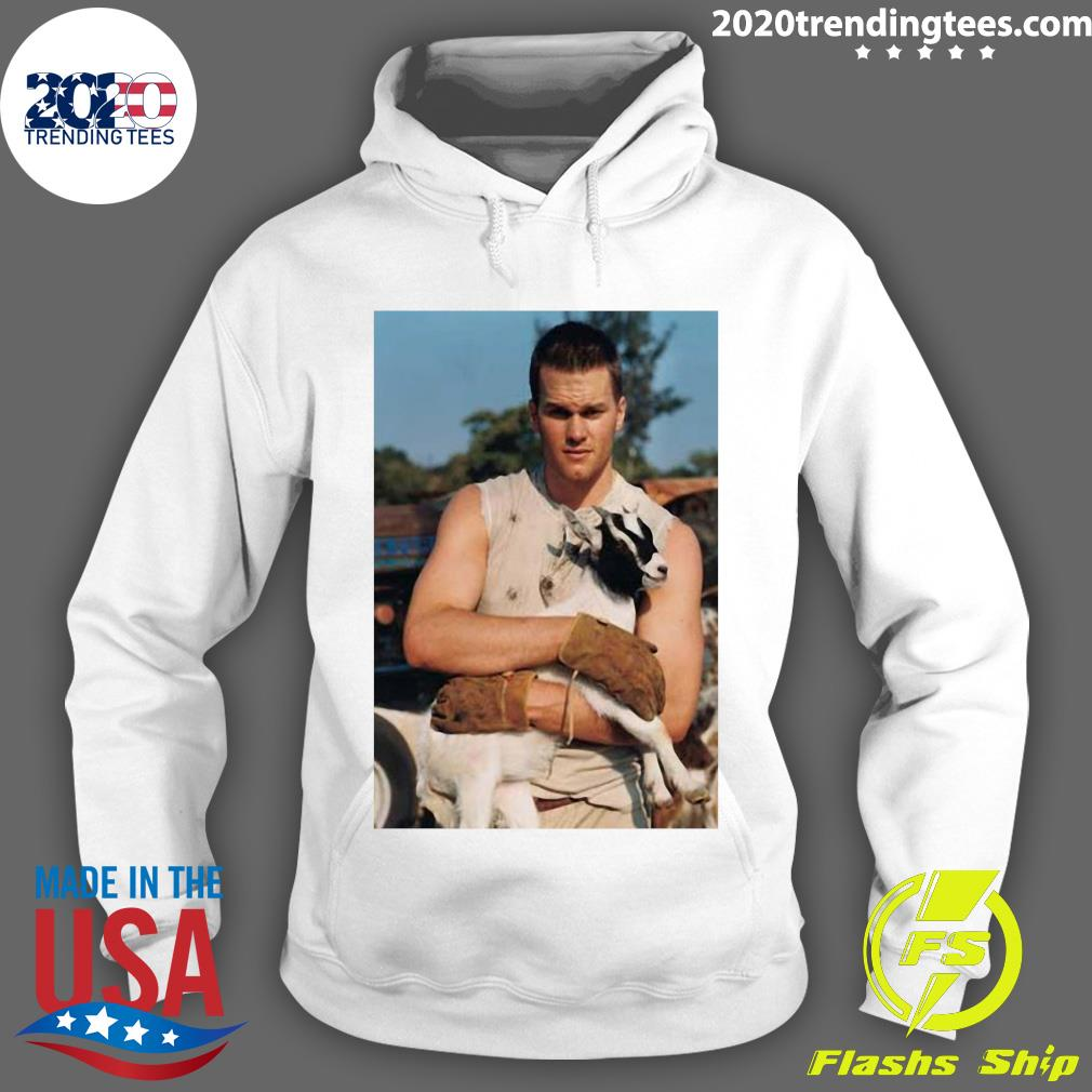 Tom Brady Goat Shirt Hoodie