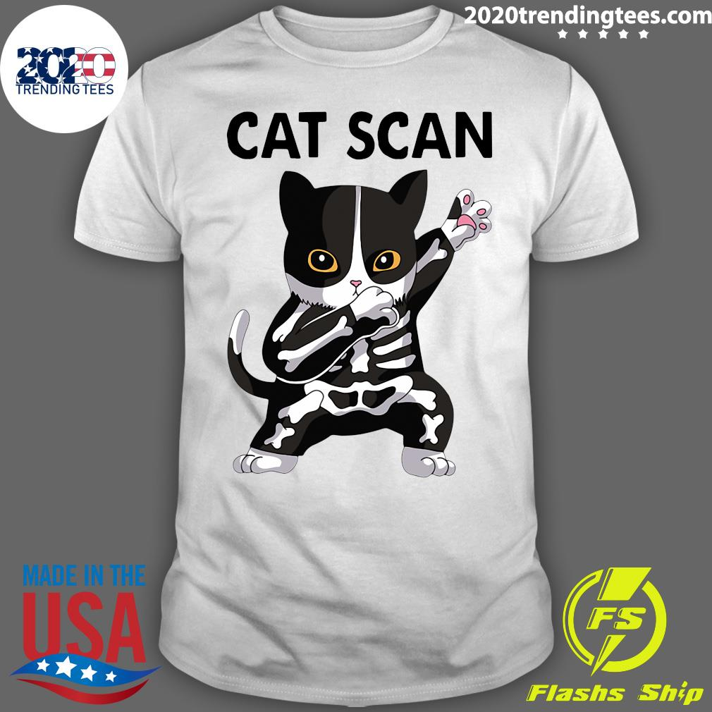 X-Ray Cat Scan CT Scan Shirt