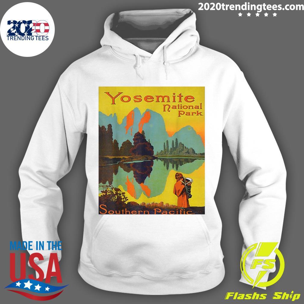 Yosemite National Park Southern Pacific Hiking Shirt Hoodie