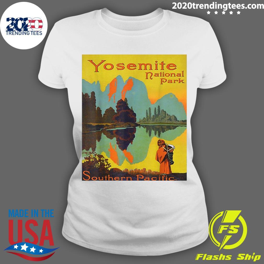Yosemite National Park Southern Pacific Hiking Shirt Ladies tee