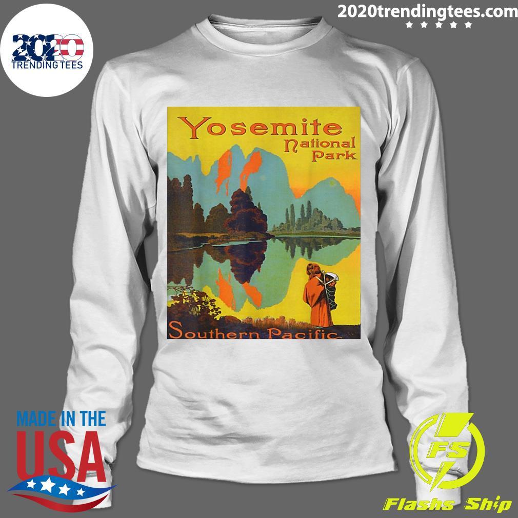 Yosemite National Park Southern Pacific Hiking Shirt Longsleeve