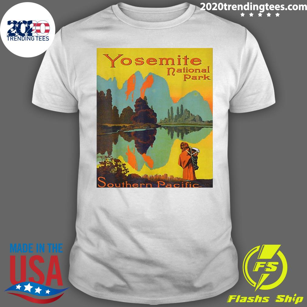 Yosemite National Park Southern Pacific Hiking Shirt