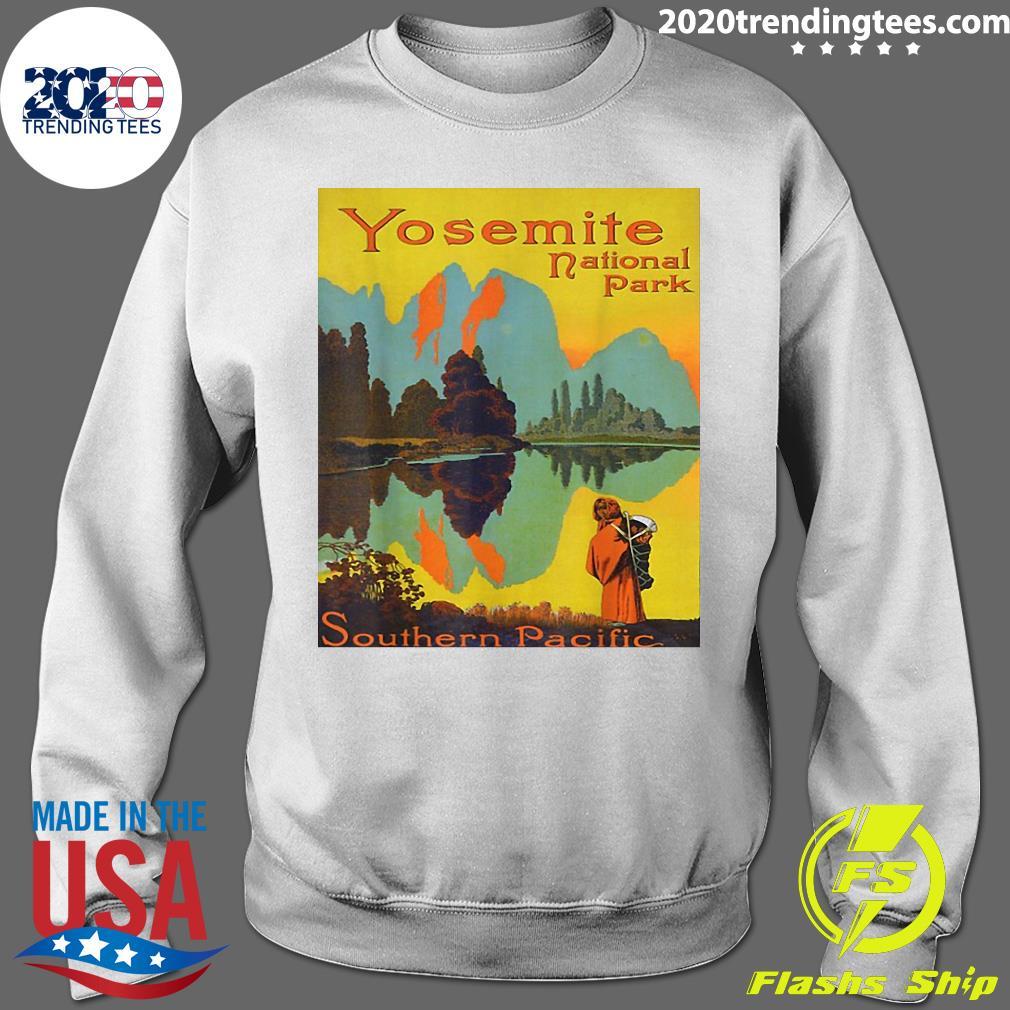 Yosemite National Park Southern Pacific Hiking Shirt Sweater