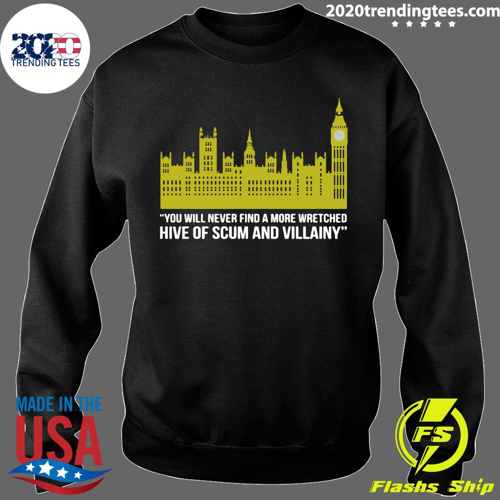 You Will Never Find A More Wretched Hive Of Scum And Villainy Shirt Sweater