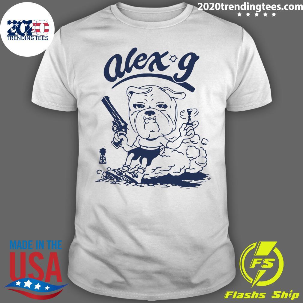 Alex G Merch Revolver Ringer Shirt