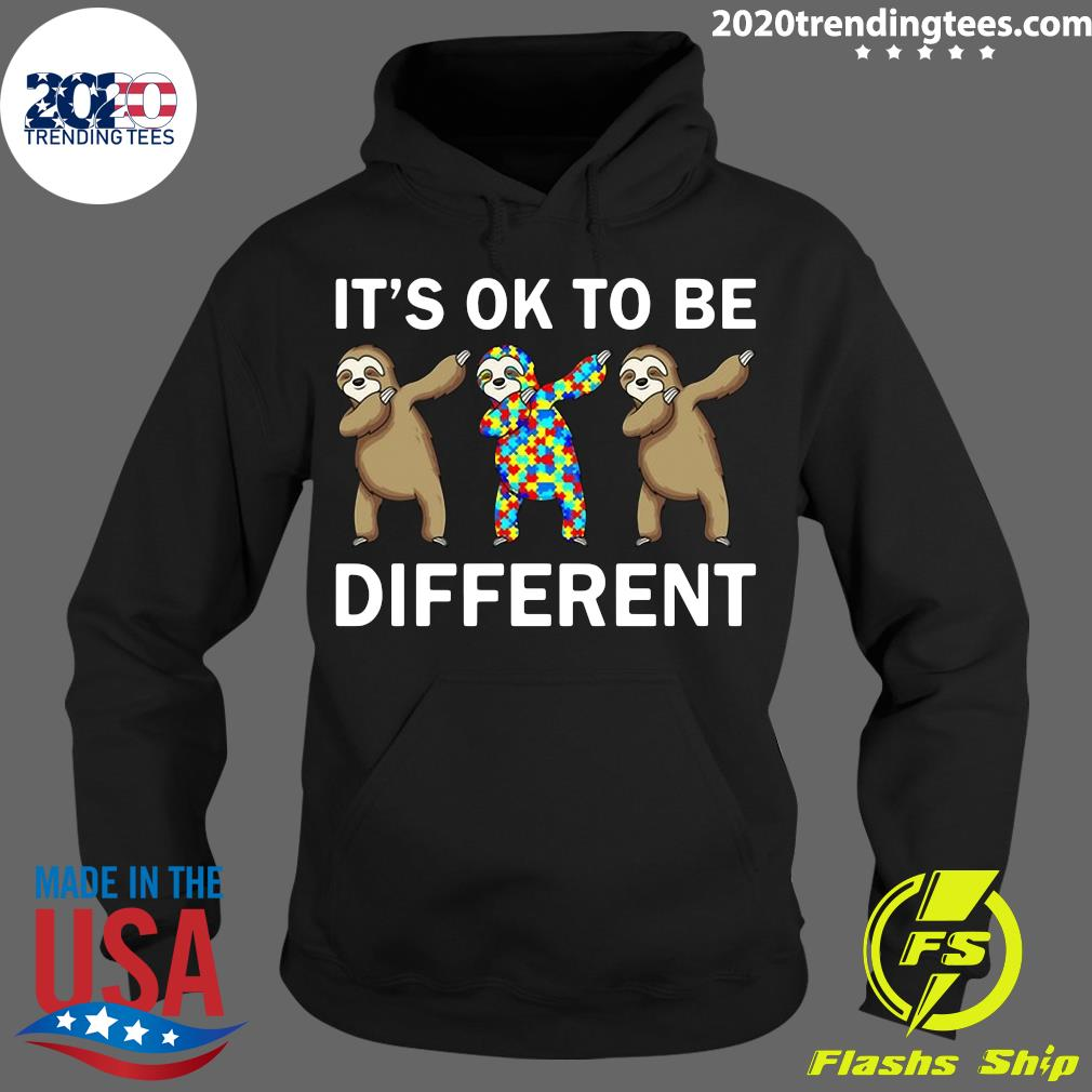 Beer Autism It's Ok To Be Different Shirt Hoodie