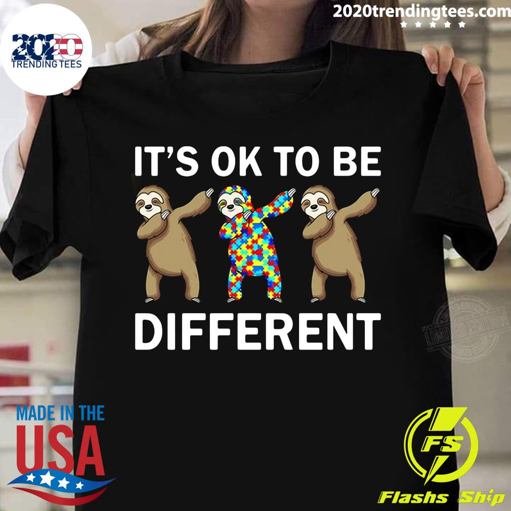 Beer Autism It's Ok To Be Different Shirt