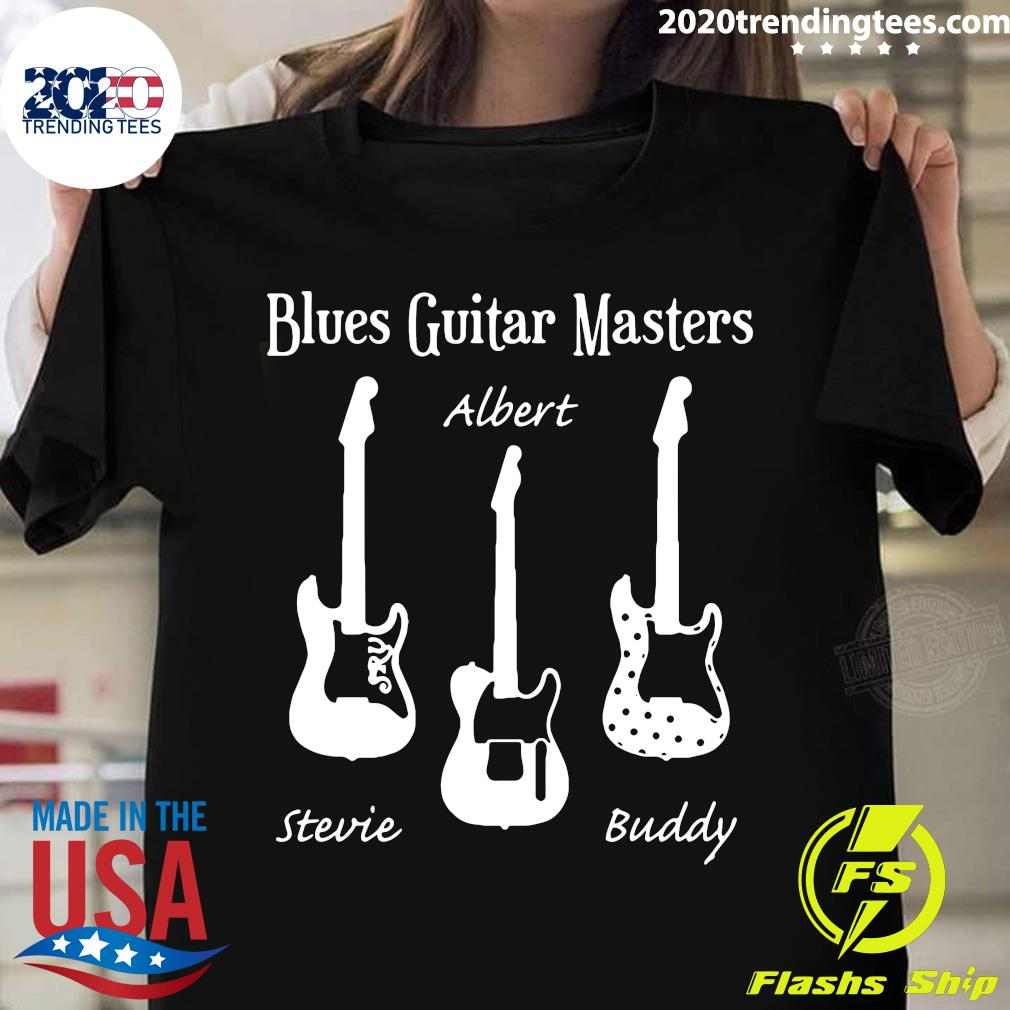 Blues Guitar Masters Stevie Albert Buddy Shirt