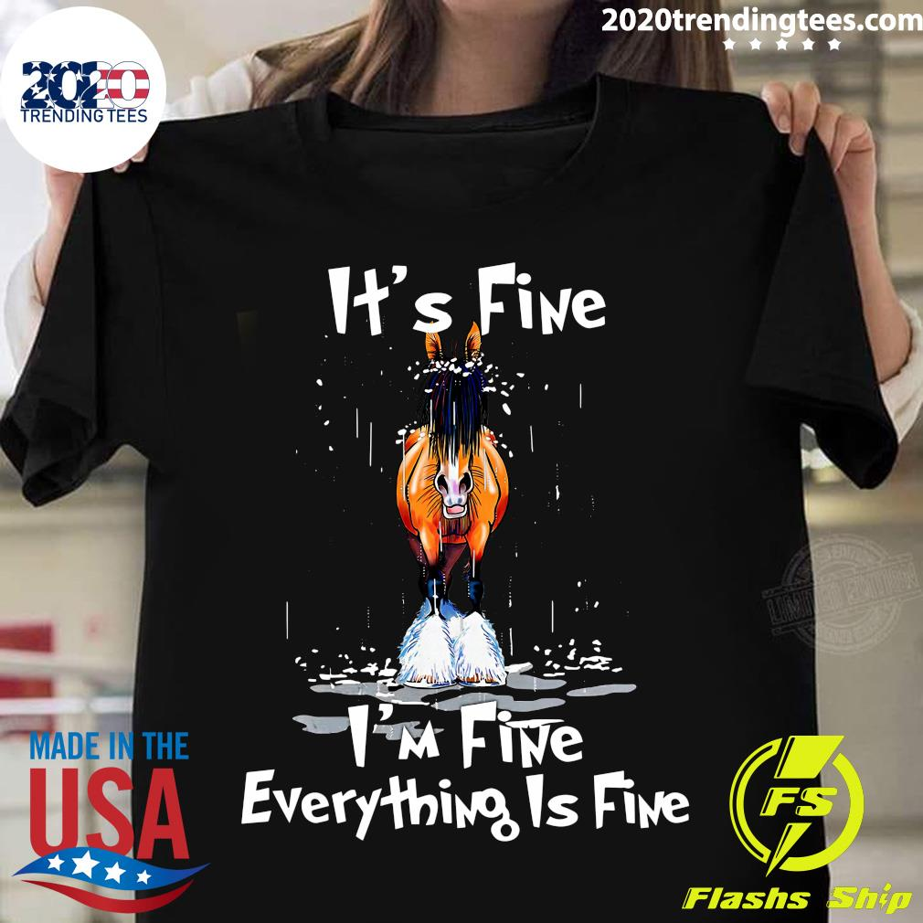 Donkey It's Fine I'm Fine Everything Is Fine Shirt
