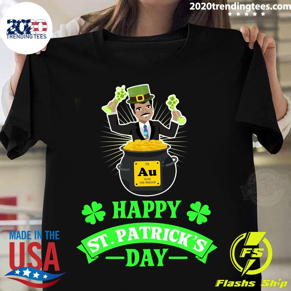 Happy St Patrick's Day Science Neil deGrasse Tyson Shirt