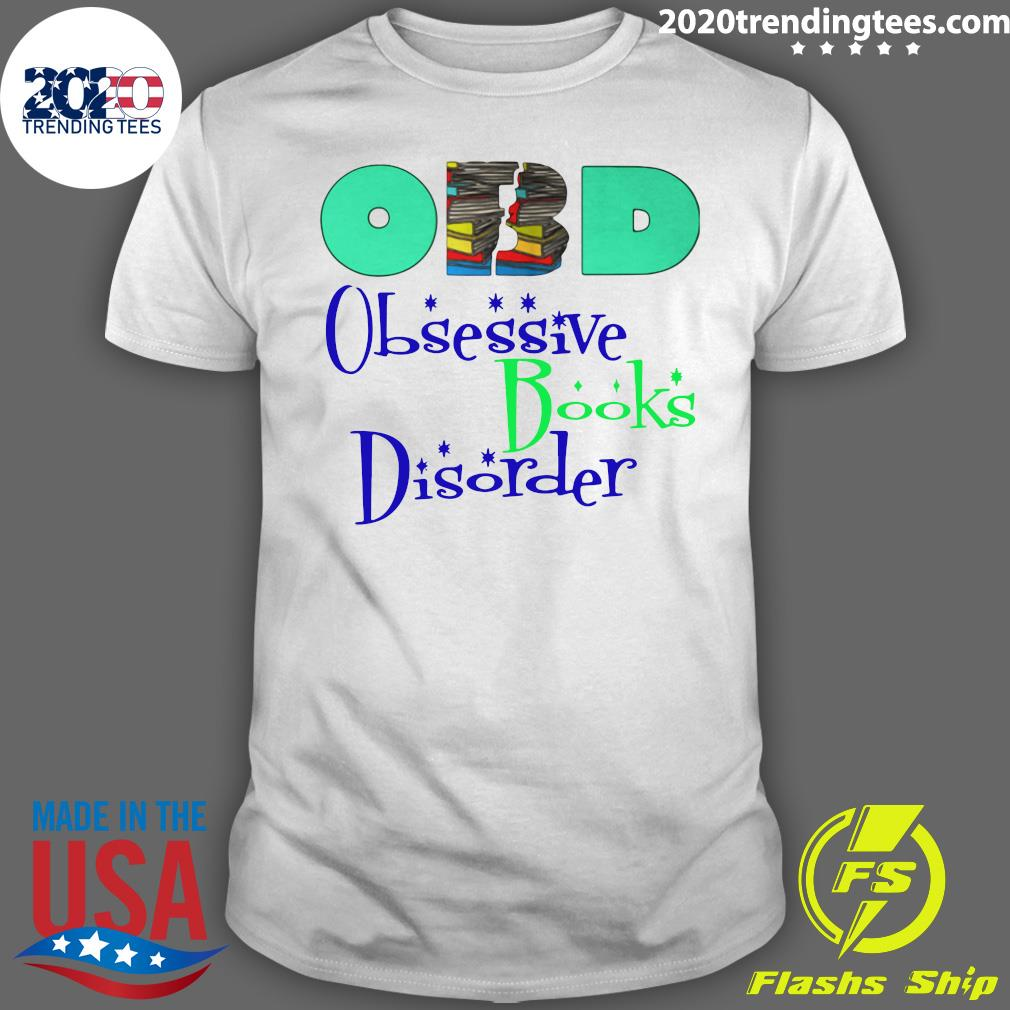 Obd Obsessive Books Disorder Limited shirt