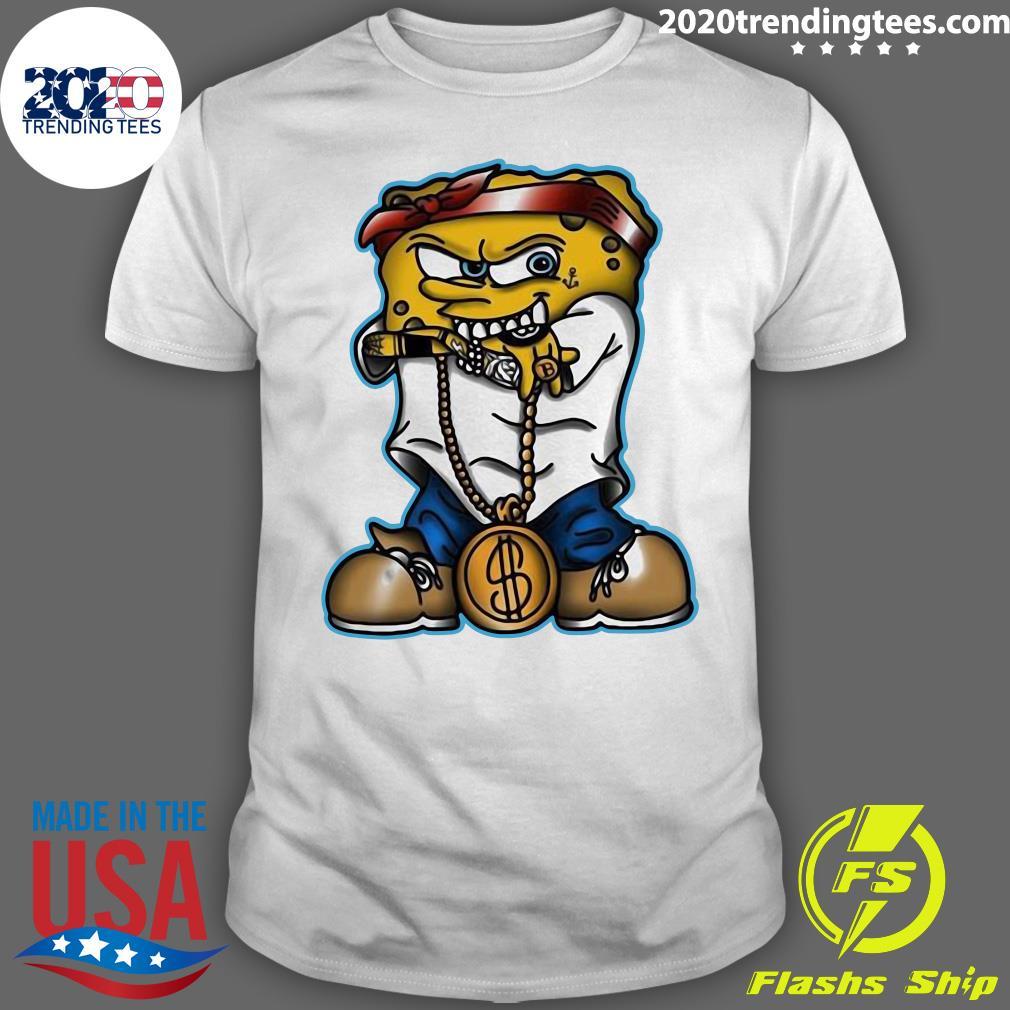 Thug Gangster Spongebob Shirt