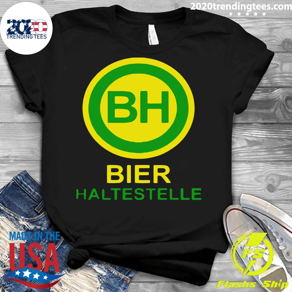 Bier Haltestelle Shirt Ladies tee