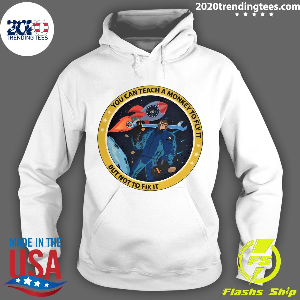 Bigfoot You Can Teach A Monkey To Fly It But Not To Fix It Shirt Hoodie