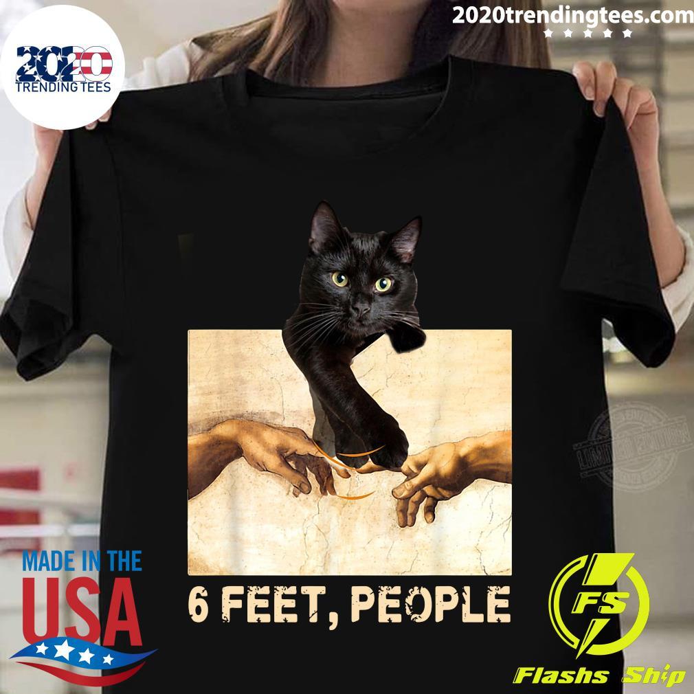 Black Cat 6 Feet People Shirt