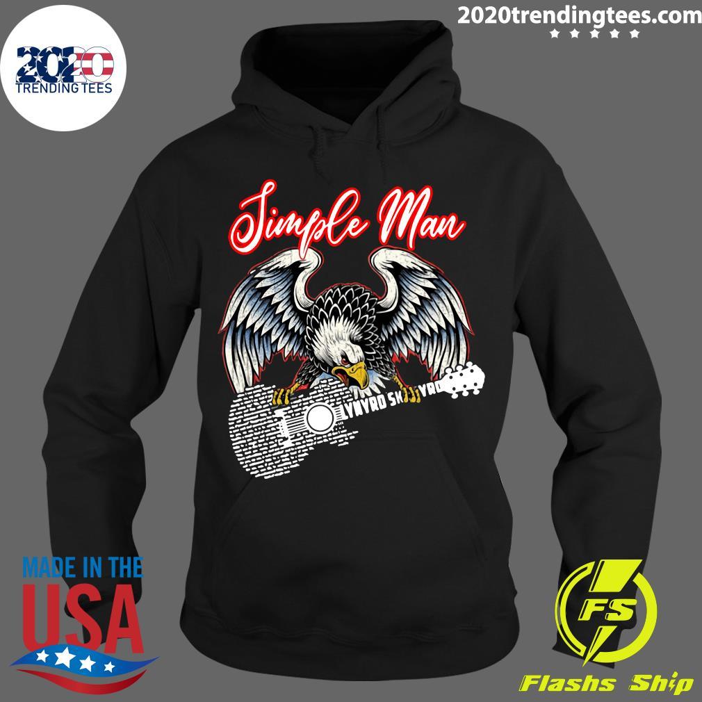 Eagle Simple Man Lynyrd Skynyrd Guitar Shirt Hoodie