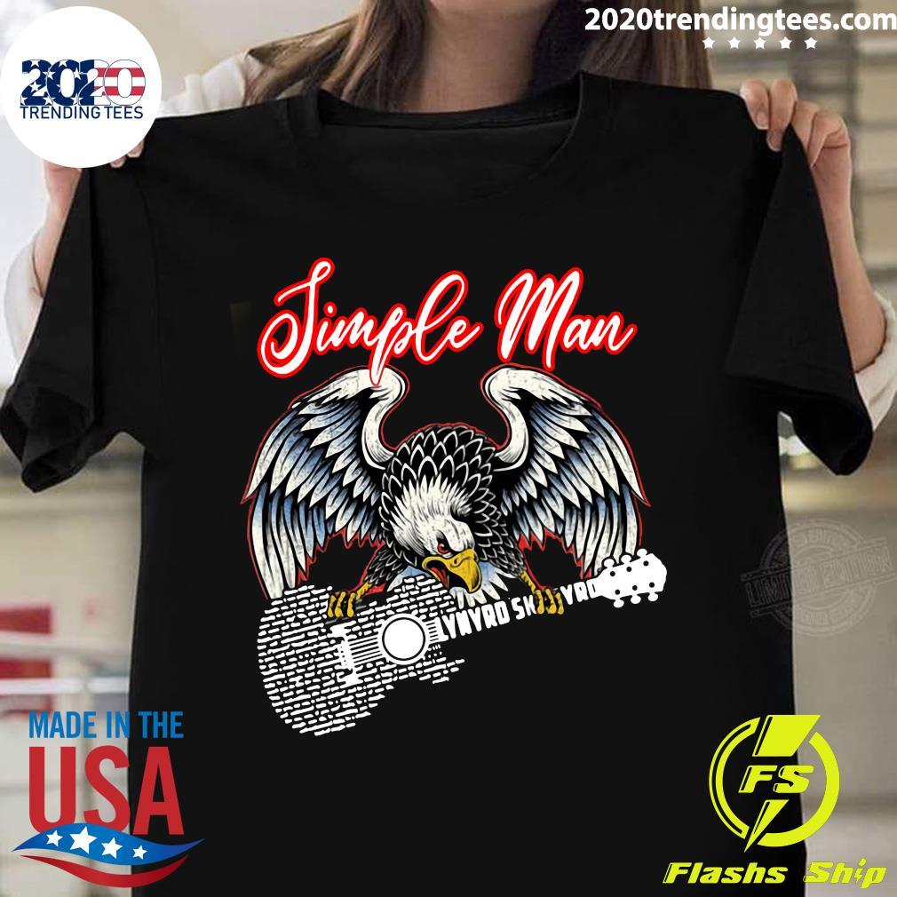 Eagle Simple Man Lynyrd Skynyrd Guitar Shirt