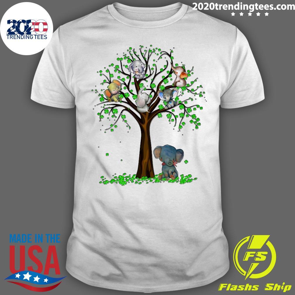 Elephant And Tree Shirt