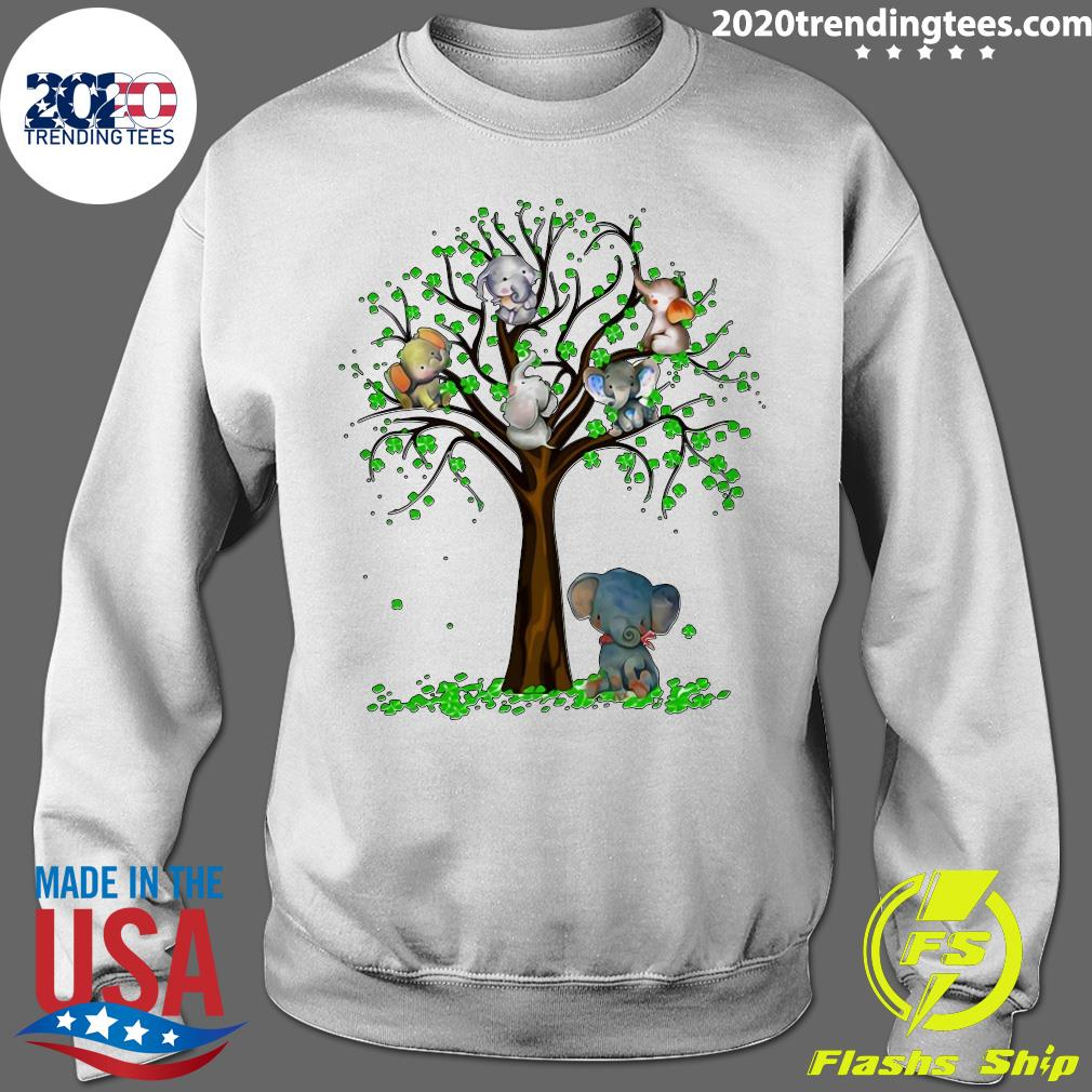 Elephant And Tree Shirt Sweater