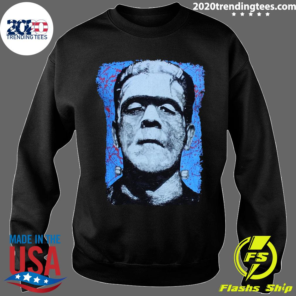 Frank N. Stein Man Tee By Lowbrow Art Company Shirt Sweater