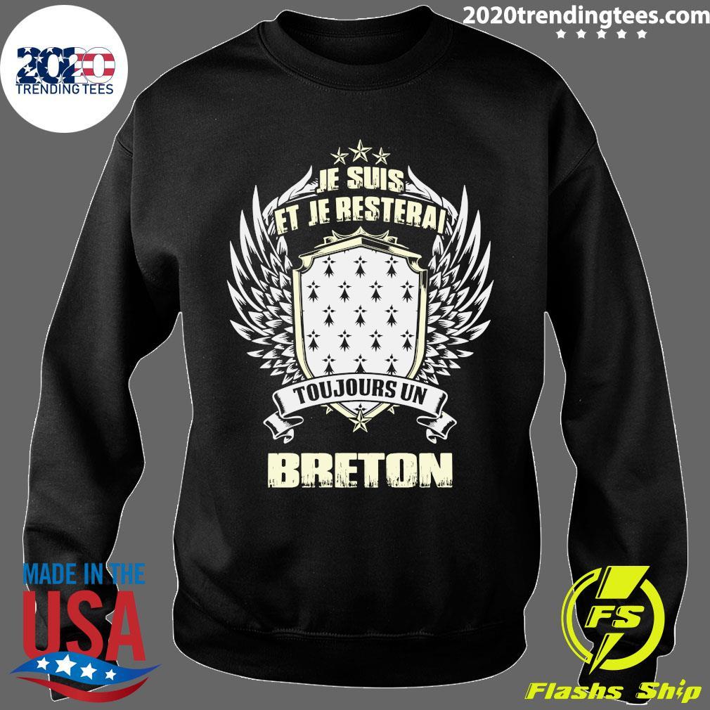 Je Suis Et Je Resterai Toujours Un Breton Shirt Sweater