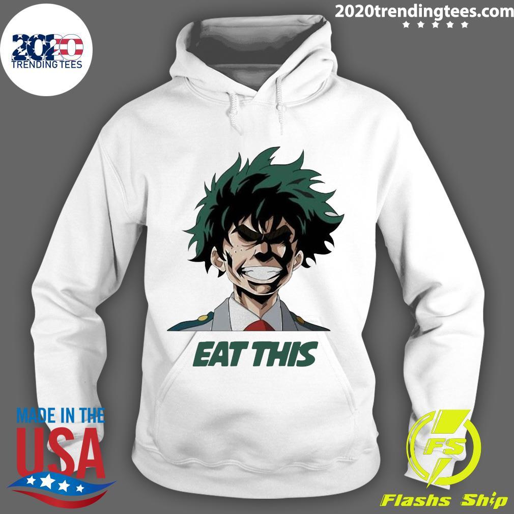 My Hero Academia Eat This Shirt Hoodie
